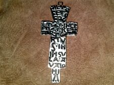 King Arthur, Celtic Burial Cross, Very Detailed, Solid Metal, Glastonbury
