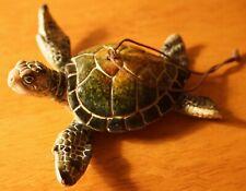 Green Sea Turtle Ornament Beach Holiday Christmas Nautical Honu Home Decor New