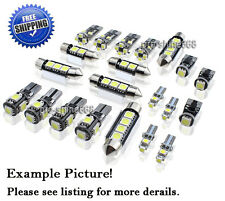 Canbus LED Car Interior Light Bulbs Package Kit For VW Passat B6 Estate -- White