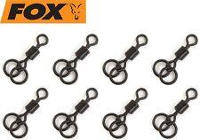 Fox Edges Double Ring Swivel Gr. 7 Wirbel (8 Stück) für Karpfenmontagen Rigs