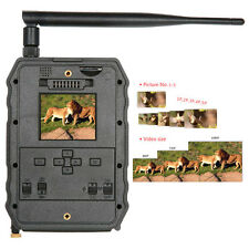 Hunting Camera 12MP 1080P Scouting Game Trail Cam 3G MMS Wireless Night Vision