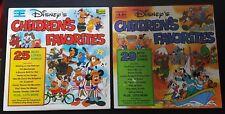 Lot LP - Disney Children's Favorites Disneyland Volume 1 et 2 - 2505 / 2508
