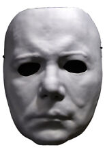"""Halloween II """"Michael Myers"""" Vacuform Mask White Frontal Face Halloween Mask"""
