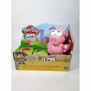 Playdoh Animal Crew Piggy Playtime Kids Art project kids pink white hasbro