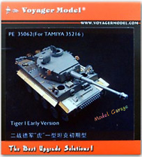 1/35 Brand-new unassembled Voyager PE35062 Tiger I Early Version (TAMIYA 35275)