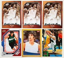 RICKY RUBIO 2009-10 TOPPS GOLD UPPER DECK SHORT PRINT RC ROOKIE CARD LOT #d/2009