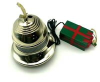"""HPI   """"Can you Imagine""""  - Lighted Gold Color Christmas Ornament Bell 4 1/2"""""""