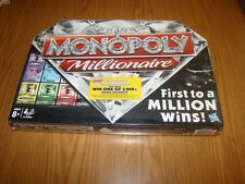 MONOPOLY Board Game Millionaire Edition 2012 Factory Seal New!