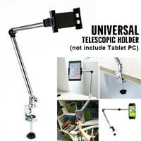 360ºRotating Arm Tablet Holder Stand Lazy Bed Table Mount Bracket For iPad Phone