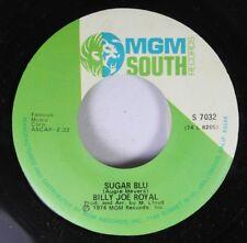 Rock 45 Billy Joe Royal - Sugar Blu / Start Again On Mgm South Records