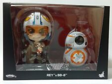 Hot Toys Star Wars Rey & BB-8 Cosbaby Disney Bubble Head bb8 Disney