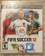 Play Station 3 PS3 FIFA Soccer 12 (Manual, box and game)
