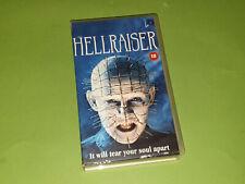 Hellraiser VHS Video Cassette - Andrew Robinson Clare Higgins Ashley Laurence