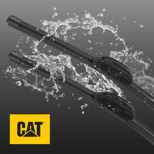 CAT Perfect Clarity Premium Performance Windshield Wiper Blade 17+19 Inch (2Pcs)
