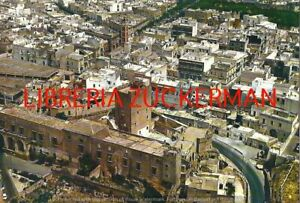 GROTTAGLIE VEDUTA AEREA Taranto CARTOLINA anni 80 viaggiata