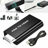 PS2 auf HDMI Adapter Video Konverter Stick Kabel 3.5mm Audio Output für HDTV CE