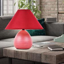 Textile Table Lamp Living Bedroom Night Light Reading Lamp Tabletop Lighting