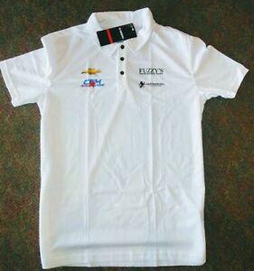 Ed Carpenter CFH Racing Fuzzy Mens Licensed Delta Polo 3 Button Shirt NWT Small