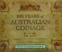 2010 100 Years of Coinage - 4 coin privy set ADHP
