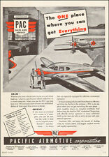 1948 vintage aircraft AD PAC PACIFIC AIRMOTIVE CORP. Sales Service 022916