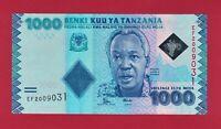 Tanzania UNC Banknote: 1000 1,000 ShillingI 2015 (Pick-41b) Printer - DE LA RUE