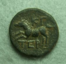 Pisidia, Termessos Major AE 19, 49-48 BC,  Zeus / Galloping Horse, VF