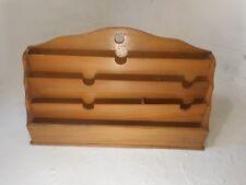 Vintage Oak Desktop Letter Rack , Stationery Tidy    ref 3053