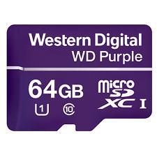 Western Digital Purple 64GB UHS-1 Class 10 microSDXC Card