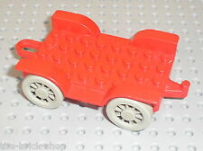 Chassis LEGO FABULAND red Car Chassis 4796c01 / Set 3797 & 3679 Mill with Shop