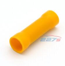 50x jaune entièrement isolé DROIT Connecteur de bout Électrique Cosses à sertir