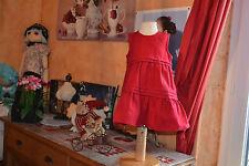 robe cyrillus 6 mois rouge bien migionne **