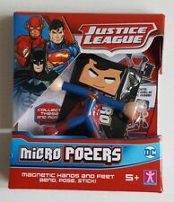 Brand New DC Comics Justice League Micro Pozers - Superman
