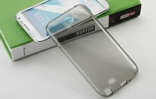 Gray Crystal Clear TPU Soft Silicon Transparent case for Samsung Galaxy Note 2