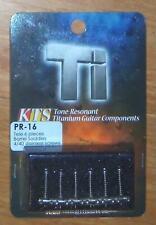 KTS Titanium Barrel Type Bridge Saddles For 6 Saddle Tele~10.7mm~JP~PR-16~New
