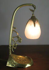 WONDERFUL FRENCH ART NOUVEAU TABLE LAMP 1910 - BRONZE - SIGNED: SCHNEIDER