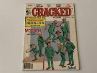 Cracked Magazine November 1981 MASH Issue with Free Cracked Paint Iron-on