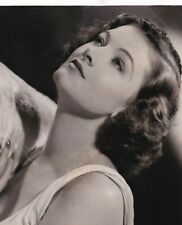 MYRNA LOY BARE SHOULDER PRE-CODE PORTRAIT 1930s CLARENCE SINCLAIR BULL PHOTO 305