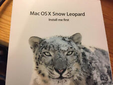 Apple Mac OS X 10.6.3 (10.6)  Snow Leopard Install Disc DVD