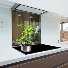 Kitchen Glass Splashback Heat Resistant Toughened Glass 60x70cm