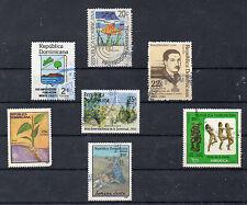 Republica dominicana valores del año 1982-90 (CQ-874)