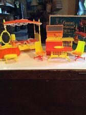 Vintage Topper Dawn Amsco Toys Dawn's Apartment Dollhouse Furniture