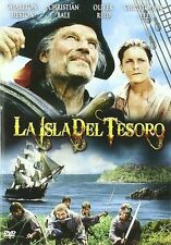 TREASURE ISLAND (1990) **Dvd R2** Charlton Heston, Christian Bale, Oliver Reed