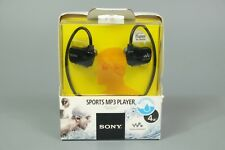 SONY NWZ-W273S 4GB WATERPROOF SPORTS MP3 PLAYER WITH SWIMMING EARBUDS BLACK