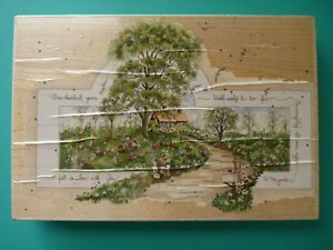 Lovely House/Home Landscape 'One Hundred Years' #90017 XX-Large STAMPS HAPPEN