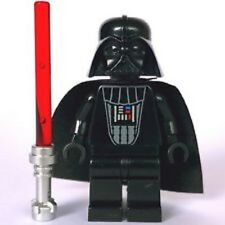 LEGO DARTH VADER MINIFIG w/ LIGHTSABER Sith minifigure from 6211 sw214