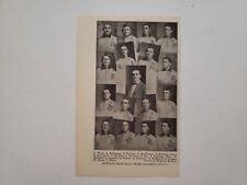 Buffalo Bisons 1905 Team Picture Frank LaPorte Joe Delahanty George Stallings