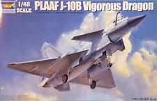 TRUMPETER® 02848 PLAAF J-10B Vigorous Dragon in 1:48