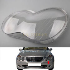 Left Headlight Headlamp Clear Lens Cover For Mercedes Benz W203 C-Class 01-07