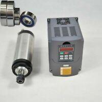 1,5KW ER16 Water CNC Wassergekühlter Spindel Motor+VFD FREQUENZUMRICHTER VSD
