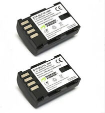 DMW-BLF19E DMW-BLF19 WASABI Battery 2pack for Panasonic DMC-GH3 DMC-GH4. DMC-GH5